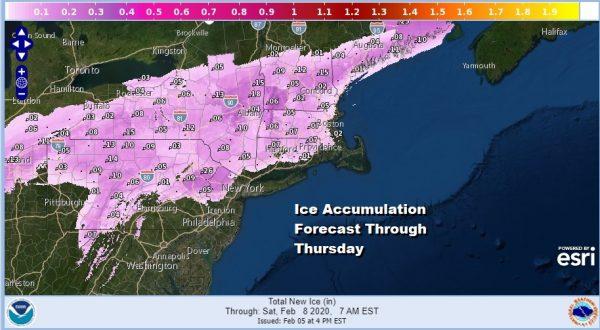 Winter Weather Advisories Inland Flood Watch For Heavy Rains Coast