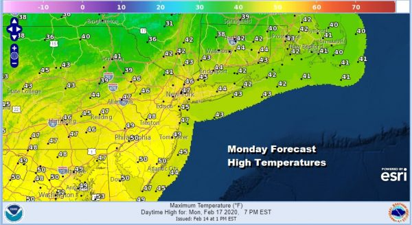 Coldest Night Of The Month & Winter Temperatures Rebound Sunday Monday