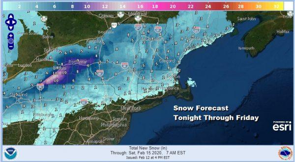 Rain Arriving Tonight Winter Weather Advisories NE Pennsylvania Catskills Northern Connecticut