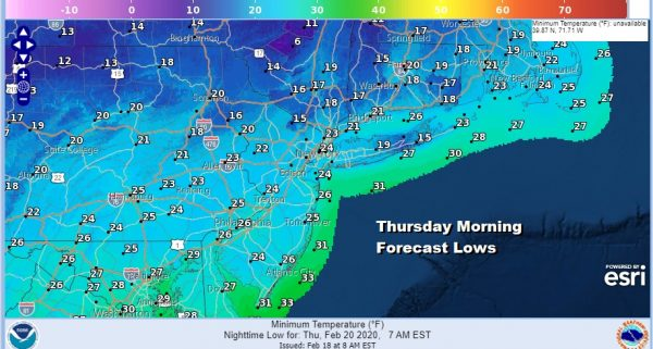 Showers Today Much Colder Wednesday Through Friday Snow Chance Grows For Southeast US