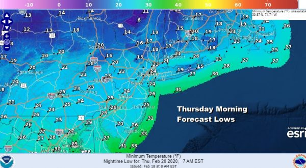 Showers End Overnight Cold Dry Wednesday Through Friday Snow Carolinas Southern Virginia Stays South