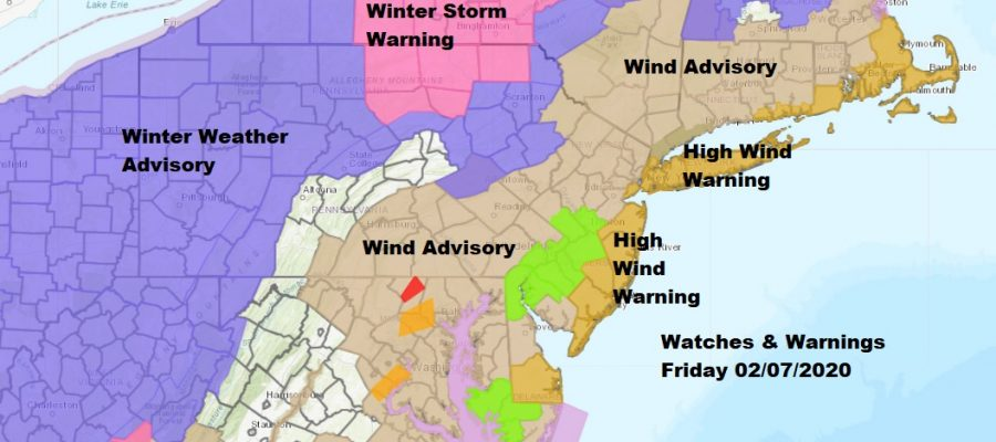 High Wind Warning Wind Advisory Winds Gust 60 MPH Or Higher
