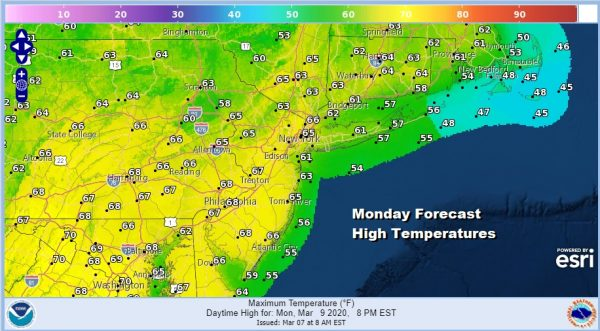 Major Storm Exitis Nice Weekend Warmer Temperatures Begin Sunday