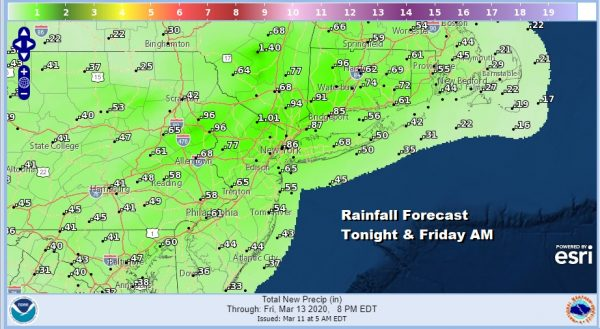 Showers Thunderstorm Possible Early Friday Chilly Weekend Should Be Dry