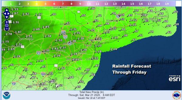Last Day of Winter Sees Sunshine Rain Thursday 70s Friday