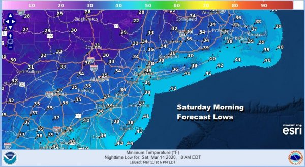 Weather Conditions Improve Weekend Chilly No Major Storms Ahead