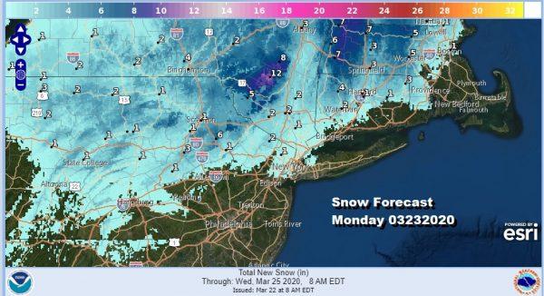 Winter Storm Watch Catskills Winter Weather Advisory NE Pennsylvania