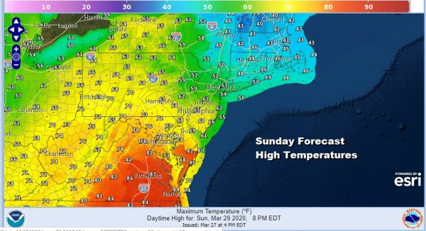 Weekend Raw Rainy Saturday Slow Improvement Sunday Chilly Next Week