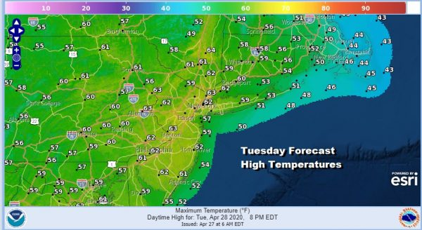Weather Conditions Should Improve Overnight & Tuesday Next Storm System Arrives Wednesday Night & Thursday