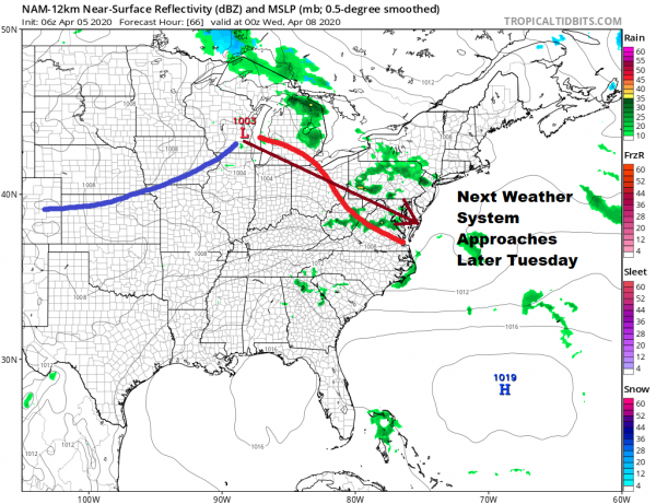 "No Major Storms Around But A ""Blocky"" Pattern Ahead Sunday Morning Coffee With Cioffi & Rao"