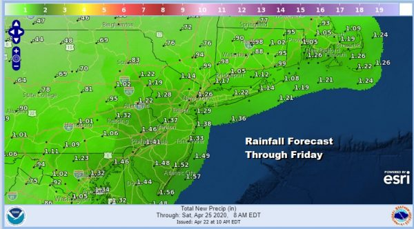 Windy Chilly Wednesday Wet Spring Weather Pattern Takes Control Thursday