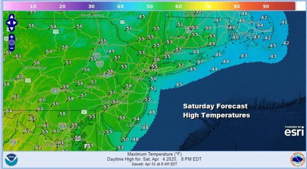 Coastal Storm Will Influence Our Weather Next Few Days