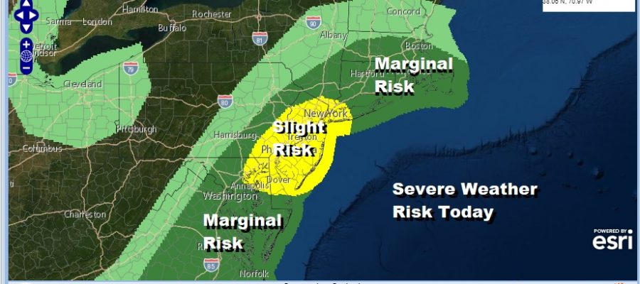 Severe Weather Risk Wind Advisories Expanded Stormy Sunday Night Into Monday