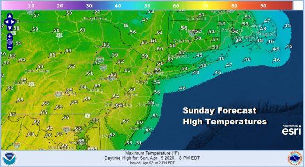 Coastal Storm Will Brush Southern New England Coastal NJ With Rain Overnight