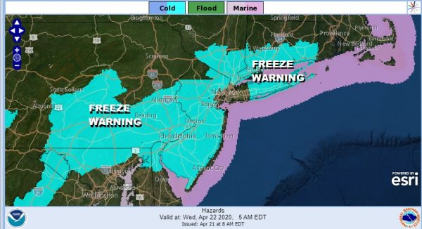 Severe Weather Exits Freeze Warning Wednesday Morning More Storm Systems Lie Ahead