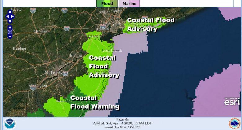 Rain Winding Down Ocean Storm Moves Away Saturday Minor Coastal Flooding Tonight