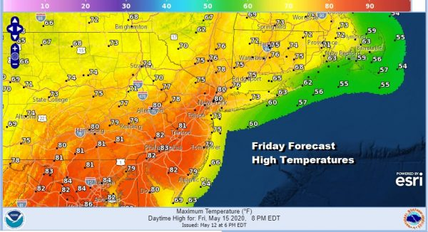 Frosts & Freezes Warm Up Late Week And Subtropical Storm Development