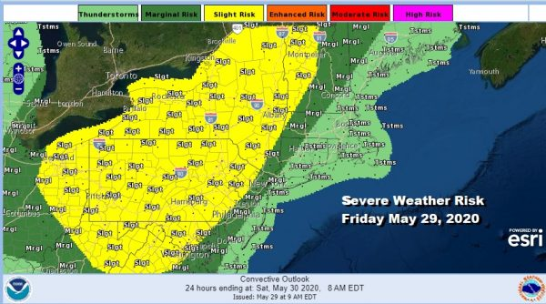 Severe Weather Risk Today Improving Cool Weekend Into Next Week