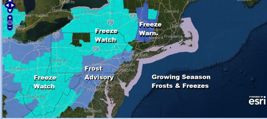 Severe Weather Risks Frosts & Freezes A Late Week Warm Up & The Tropics