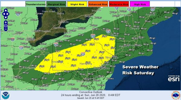 Severe Weather Risk Saturday Heat Humidity Return This Weekend