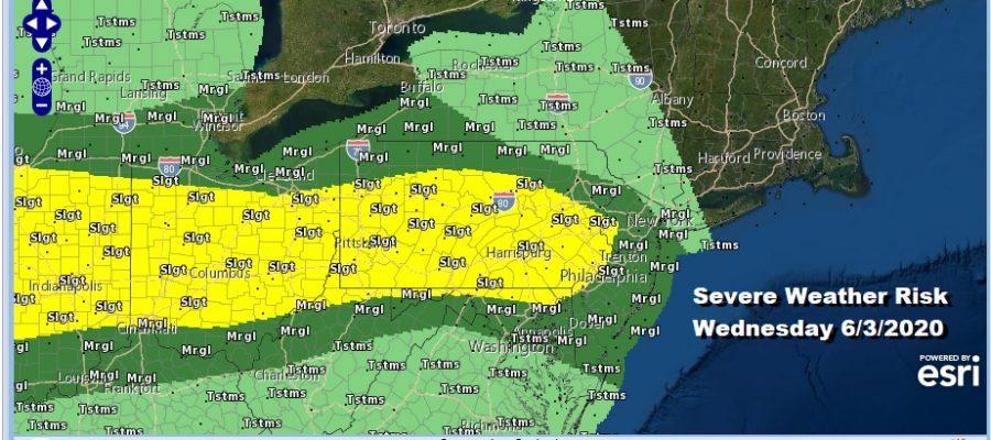 June Begins Cool Warm Up Ahead Severe Weather Risks