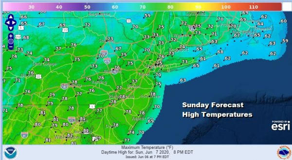 Sunshine Dry Sunday Into Tuesday No Rain Until Wednesday Night At The Earliest