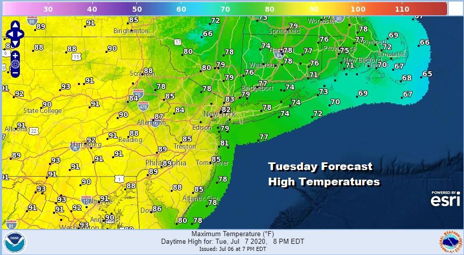 More Clouds Less Heat Scattered Thunderstorms Watching Carolinas For End of Week Rain