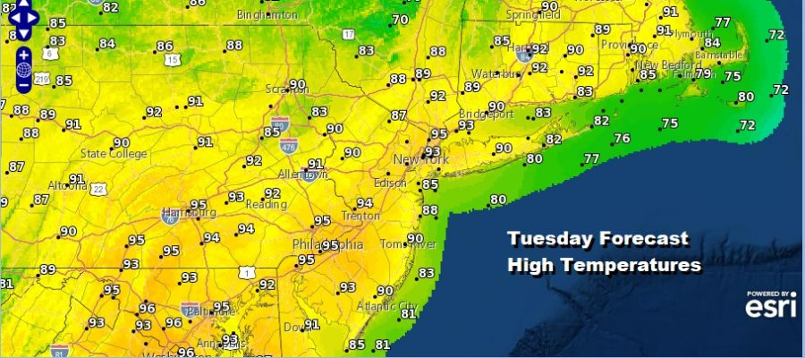 Another Hot Humid Day Severe Weather Risks Grow Wednesday