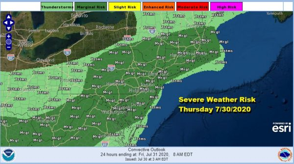 Severe Weather Risk Late Today Atmosphere Primes This Weekend For Flow Up East Coast