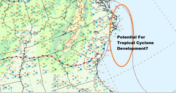 Heat Humidity Pop Up Thunderstorm Today Thursday Watching For Tropical Cyclone Development Carolinas