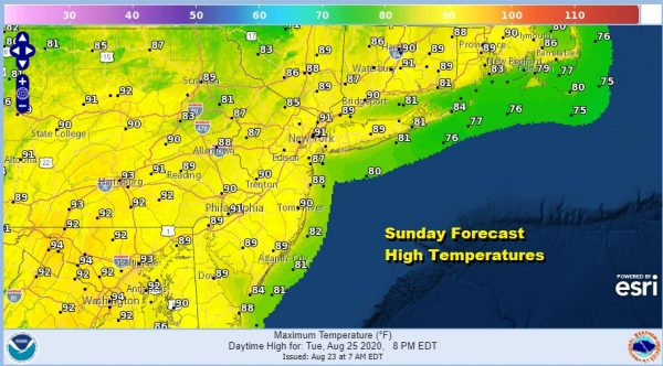 Heat Humidity Into Tuesday Widespread Severe Weather Risk Tuesday Virginia to Maine